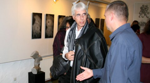 Impressionen der Vernissage von Christoph Traub